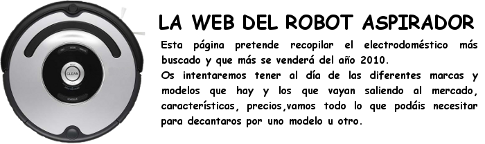EL ROBOT ASPIRADOR